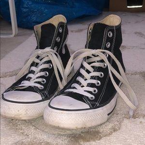 Black Converse High-tops